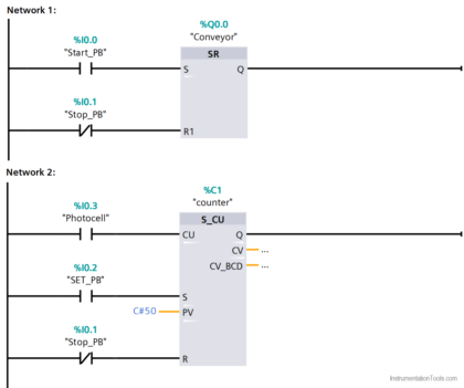 Start the Counting from a Preset Value in PLC