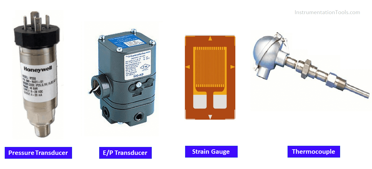 Difference between Transmitter and Transducer