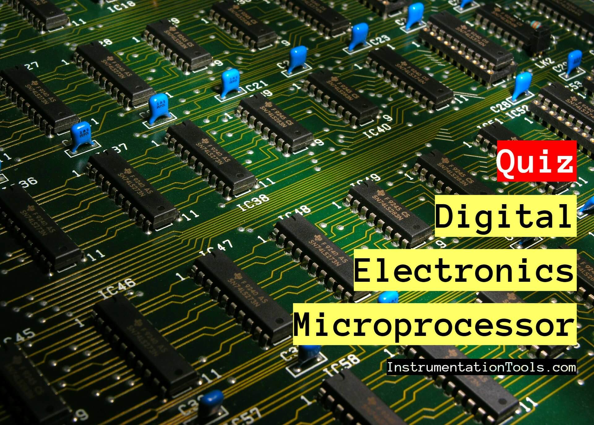 100 Digital Electronics and Microprocessor Questions for Practice Exam