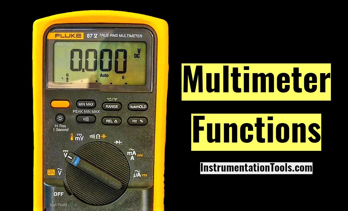 Main Functions of a Multimeter