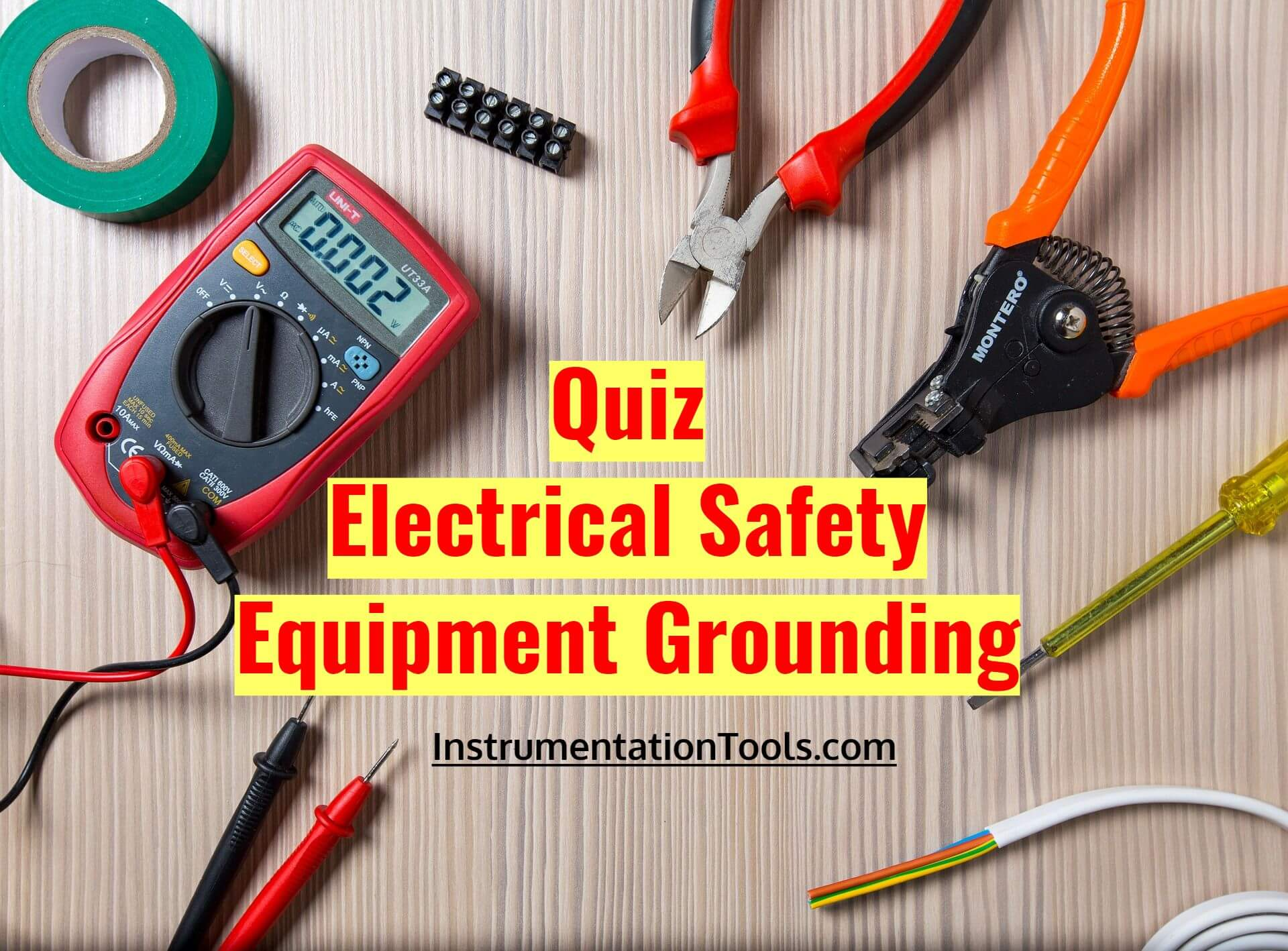 Quiz on Electrical Safety and Equipment Grounding