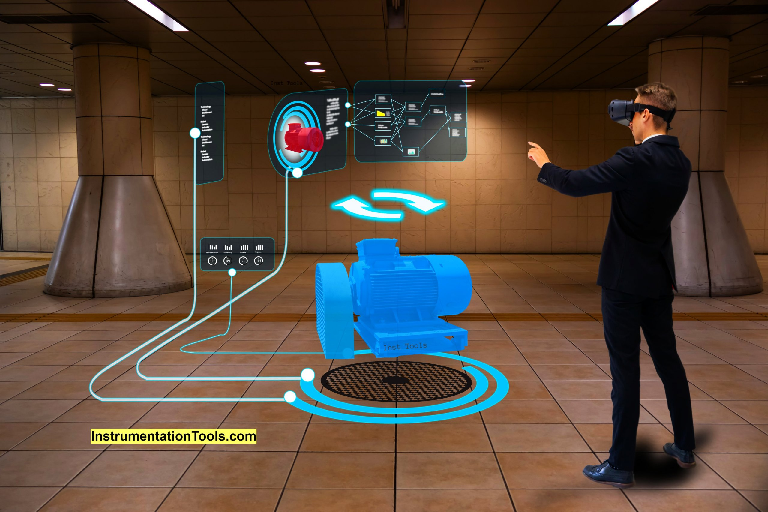 Augmented Reality and Virtual Reality in Industrial Automation