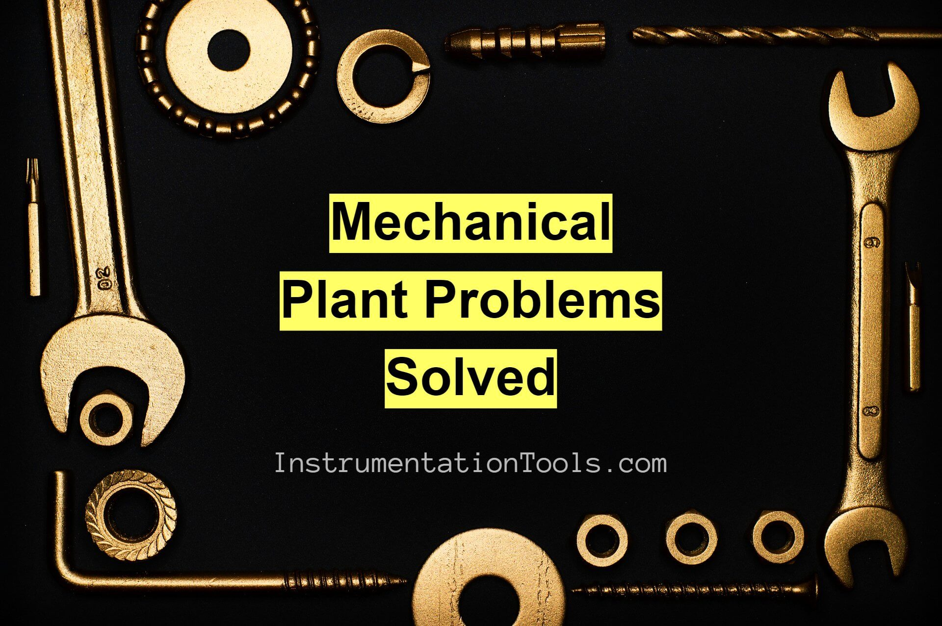 Mechanical Engineering Plant Problems Solved