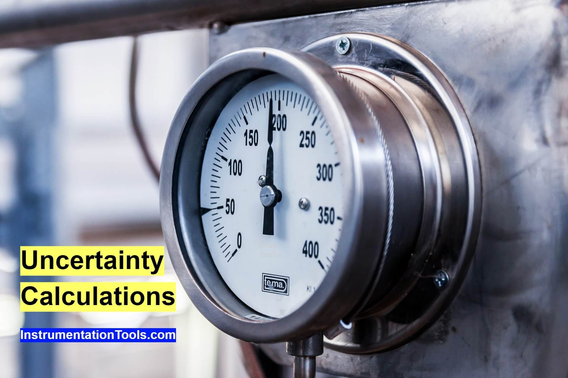 Uncertainty Calculations of Pressure Calibration